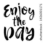 vector typography poster  brush ...   Shutterstock .eps vector #1426301171