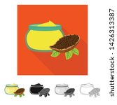 vector illustration of cacao... | Shutterstock .eps vector #1426313387