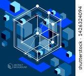 technical blueprint  vector...   Shutterstock .eps vector #1426324094