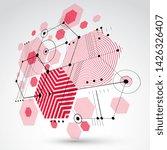 bauhaus retro wallpaper ...   Shutterstock .eps vector #1426326407