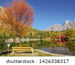 Colorful Foliage In Autumn With ...