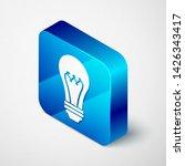 isometric light bulb icon...   Shutterstock .eps vector #1426343417