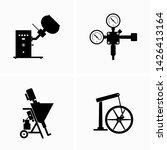 industrial equipment and... | Shutterstock .eps vector #1426413164