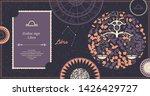 zodiac sign libra. the symbol... | Shutterstock .eps vector #1426429727