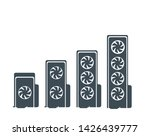 video cards with different... | Shutterstock .eps vector #1426439777