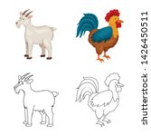 vector design of breeding and... | Shutterstock .eps vector #1426450511