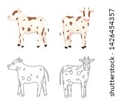 vector design of breeding and... | Shutterstock .eps vector #1426454357