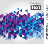abstract mosaic background.... | Shutterstock .eps vector #142646314