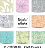 paper stickers for notes with... | Shutterstock .eps vector #1426501391
