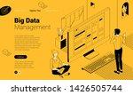 flat design isometric vector... | Shutterstock .eps vector #1426505744