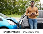 Male Motorist Involved In Car...