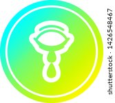 crying eye circular icon with... | Shutterstock .eps vector #1426548467