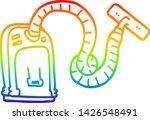 rainbow gradient line drawing... | Shutterstock .eps vector #1426548491