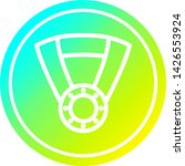 medal award circular icon with... | Shutterstock .eps vector #1426553924