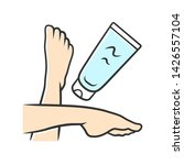 moisturizing foot cream ... | Shutterstock .eps vector #1426557104