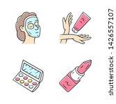feminine hygiene  makeup color... | Shutterstock .eps vector #1426557107