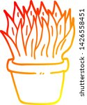 warm gradient line drawing of a ... | Shutterstock .eps vector #1426558451
