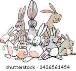 cartoon illustration of funny... | Shutterstock .eps vector #1426561454