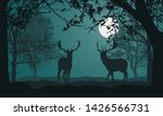 illustration of landscape with...   Shutterstock .eps vector #1426566731