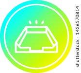 empty in tray circular icon... | Shutterstock .eps vector #1426570814