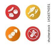 healthy balanced eating flat... | Shutterstock .eps vector #1426574351