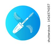 mascara flat design long shadow ... | Shutterstock .eps vector #1426574357