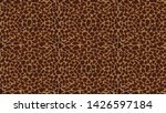giraffe animal print seamless... | Shutterstock . vector #1426597184