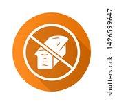 low carb diet flat design long... | Shutterstock .eps vector #1426599647