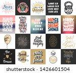 set of 20 motivational and...   Shutterstock . vector #1426601504