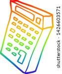 rainbow gradient line drawing... | Shutterstock .eps vector #1426603571