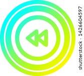 rewind button circular icon... | Shutterstock .eps vector #1426604597