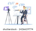 business and entrepreneurship... | Shutterstock .eps vector #1426619774