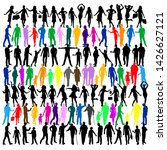 collection of colorful people...   Shutterstock .eps vector #1426627121