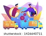 worldwide shipping service ... | Shutterstock .eps vector #1426640711
