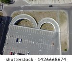 parking of commercial center in ... | Shutterstock . vector #1426668674