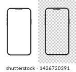 new version of black slim... | Shutterstock . vector #1426720391