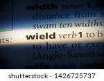 wield word in a dictionary.... | Shutterstock . vector #1426725737