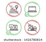 do or stop. smile  roller... | Shutterstock .eps vector #1426780814