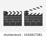 realistic 3d detailed clapper...   Shutterstock .eps vector #1426817381