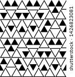 geometric triangle seamless... | Shutterstock .eps vector #1426823081