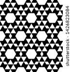 geometric triangle seamless... | Shutterstock .eps vector #1426823084