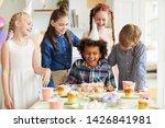 Multi Ethnic Group Of Children...