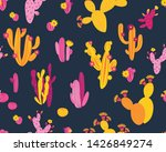 vector seamless pattern with... | Shutterstock .eps vector #1426849274