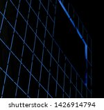 glowing grid structure...   Shutterstock . vector #1426914794