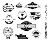 collection of premium quality... | Shutterstock .eps vector #142692841