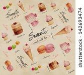 sweets pattern | Shutterstock . vector #142693474