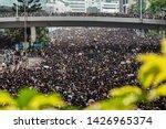 hong kong   june 16th 2019  ... | Shutterstock . vector #1426965374