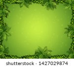 an aerial view of garden... | Shutterstock .eps vector #1427029874