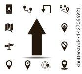 arrow icon. simple glyph  flat...