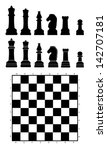 chess | Shutterstock .eps vector #142707181